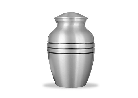 Classic Pewter Urn Image