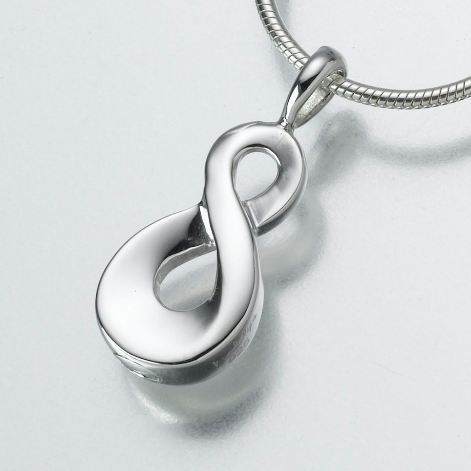Infinity Pendant- Sterling Silver Image